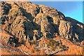 NY2806 : Raven Crag from the Stool House Farm Road by Mick Garratt