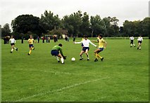 SP5105 : Brasenose College Football Pitch by Steve Daniels