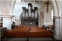 TQ4655 : St Martin's Church, Brasted, Kent - Organ by John Salmon