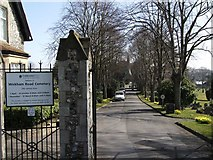 SU5707 : Wickham Road Cemetery (1) by Barry Shimmon