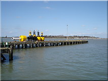 TM2532 : Pier, Harwich harbour by Oxymoron