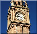 J3474 : The Albert Clock (BST), Belfast by Albert Bridge