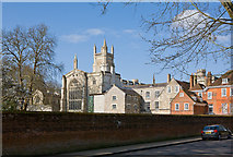 SU4828 : Winchester College by Peter Facey