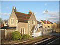 TQ7258 : Crossing keeper's house at Aylesford by Stephen Craven