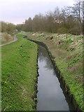 SJ8093 : Chorlton Brook by Paul Lockett