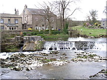 SE0063 : Linton Falls Weir by Kevin Rushton
