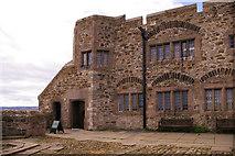 NU1341 : Entrance, Lindisfarne Castle, Holy Island by Christine Matthews