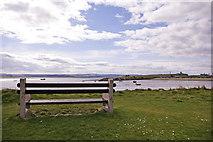 NU1341 : Seat, Holy Island, Northumberland by Christine Matthews