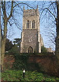 TM1644 : St Margaret's Church tower by Andrew Hill
