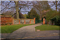 TQ4666 : Entrance to Priory Gardens by Ian Capper