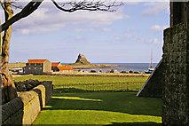 NU1241 : Holy Island, Northumberland by Christine Matthews