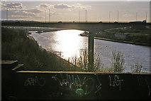 NZ2463 : New Redheugh Bridge, Gateshead by Christine Matthews