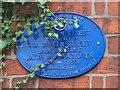 Photo of James Adams blue plaque