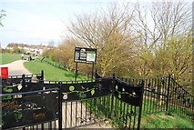TQ7768 : The entrance to Hillyfields Community Park by N Chadwick
