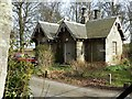 NO5103 : Balkaskie gatehouse by James Allan