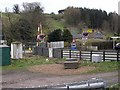 NY5156 : Level crossing at How by Oliver Dixon