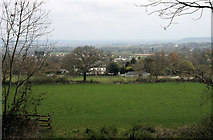 ST2118 : Blagdon Hill Village from the south west by Nick Chipchase