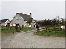 T0210 : Holiday lodge near Cregg by David Hawgood