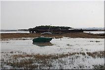 TQ8068 : Shipwreck, Sharp's Green Bay by N Chadwick