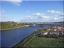 NT9953 : River Tweed, Berwick-upon-Tweed by Christine Matthews