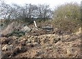 SU6754 : Rotting hay & pallets by Given Up