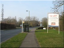 SU6553 : Bus shelter on Wade Road by Sandy B