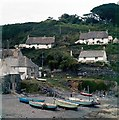 SW7214 : Cadgwith Cove, 1962 by M J Richardson