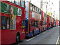 TQ2881 : Buses on Oxford Street by Stephen McKay