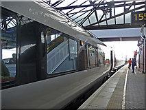 NT9953 : Plymouth Train, Berwick-upon-Tweed by Christine Matthews