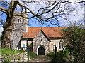 TM1048 : St.Mary's Church, Little Blakenham by Adrian Cable