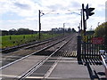 TM1152 : Mill Lane Level Crossing, Baylham by Adrian Cable