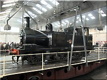 SK4175 : Roundhouse, Barrow Hill by Dave Hitchborne