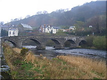 SJ1143 : Carrog Bridge by PAUL FARMER