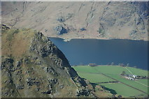 NY1618 : Rannerdale Knotts and Rannerdale Farm by Philip Halling