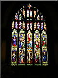 SD5192 : Holy Trinity Church, Kendal, Stained glass window by Alexander P Kapp