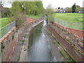 SP0785 : River Rea From Balsall Heath Road by Roy Hughes