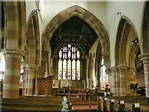 SD4983 : St Peter's Church, Heversham, Interior by Alexander P Kapp