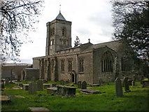 SD4983 : St Peter's Church, Heversham by Alexander P Kapp