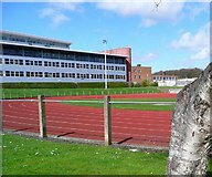 NS3421 : Ayr College and sports ground by Gordon Brown