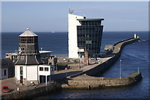 NJ9505 : Marine Operations Centre, Aberdeen Harbour by Mike Pennington