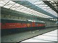 SE1416 : Parcels train at Huddersfield station by Stephen Craven