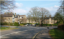 SK0573 : Buxton, a first impression on arrival from the north. by Geoff Royle