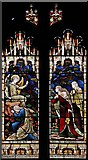 TL3706 : St Augustine of Canterbury, Broxbourne, Herts - Window by John Salmon