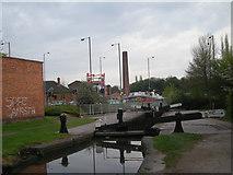 SO8276 : Locks near the retail parks by Row17