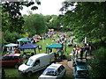 SP3166 : Party in the Dell, May 2007 by Robin Stott