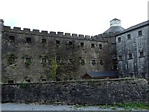 W6572 : Cork City Gaol from the rear by Richard Fensome