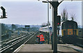 TQ3264 : South end of South Croydon station by Stephen Craven
