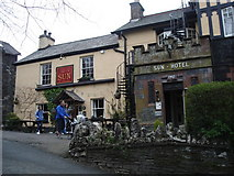 SD3097 : Coniston - the Sun Hotel by Ian Cunliffe