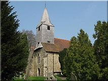 TQ5558 : Parish Church of St Mary the Virgin, Kemsing (1) by David Anstiss