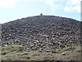 NS9534 : Summit cairn, Tinto Hill by Stephen Sweeney